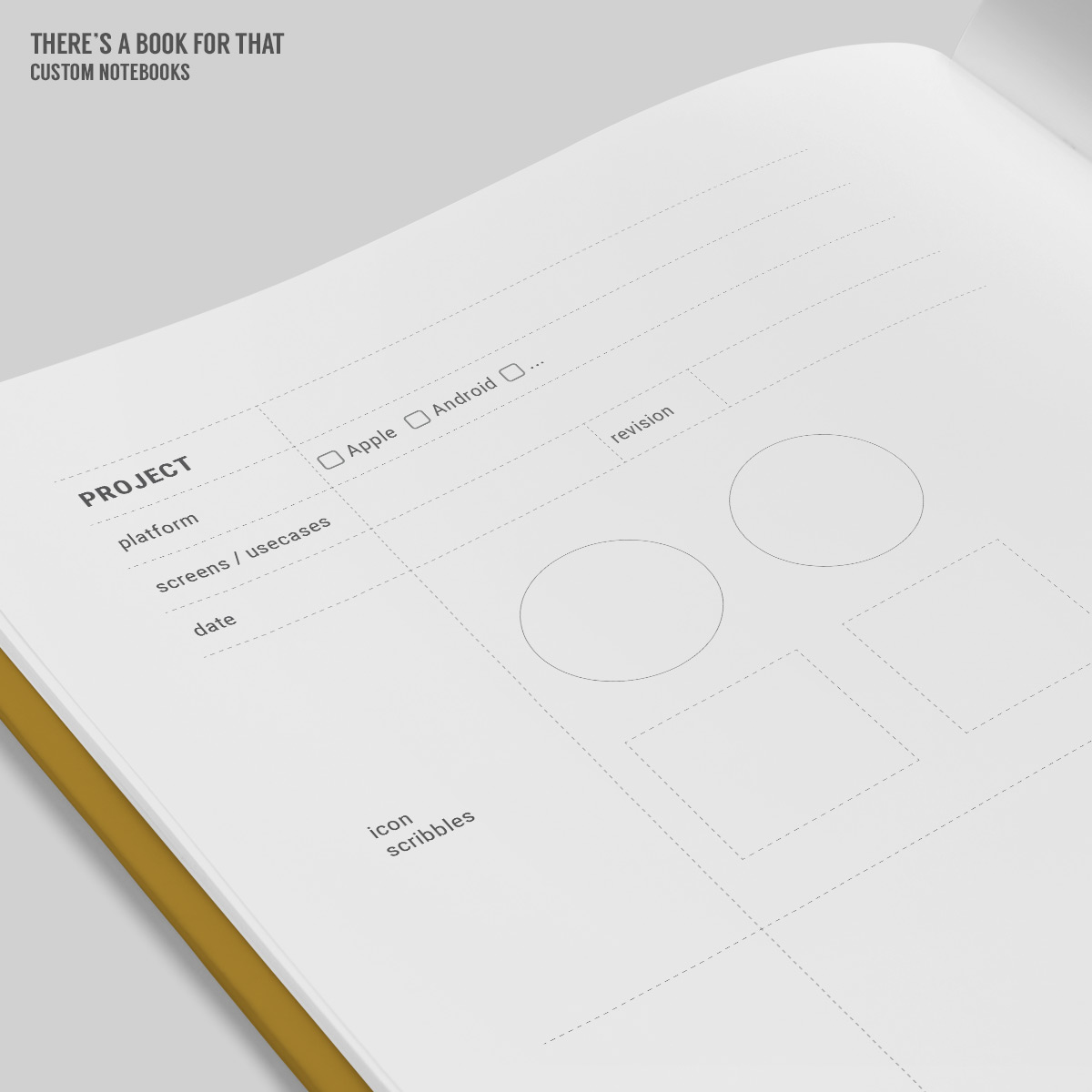 This notebook apps universal features smartphone/tablet/smartwatch mocks with extended screen, portrait/landscape, space to define usecases and extremely cool thumbnail sketching & flowcharts.