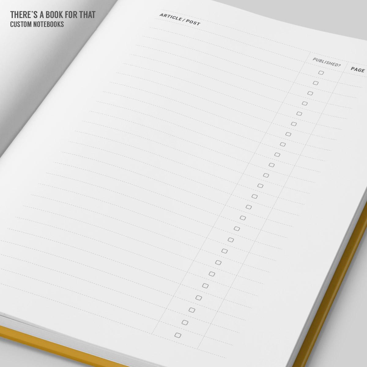 Blogger Notebook