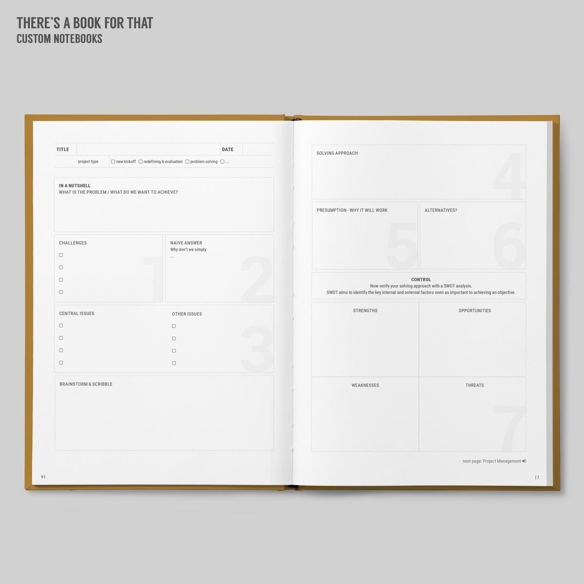 Projectmanagment_amazon-Projectmanagement Notebook_Stationery_bleed