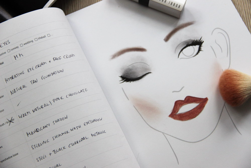 There's a book for that - Makeup Notebook