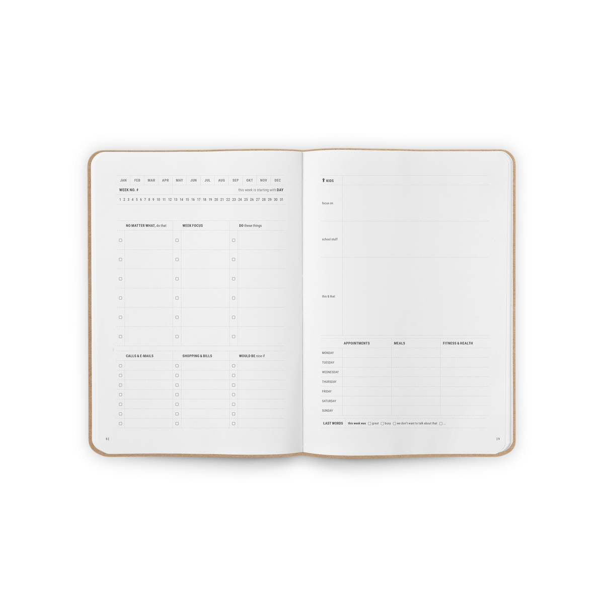 B-102_Family_Organization_Notebook_Stationery_Spread