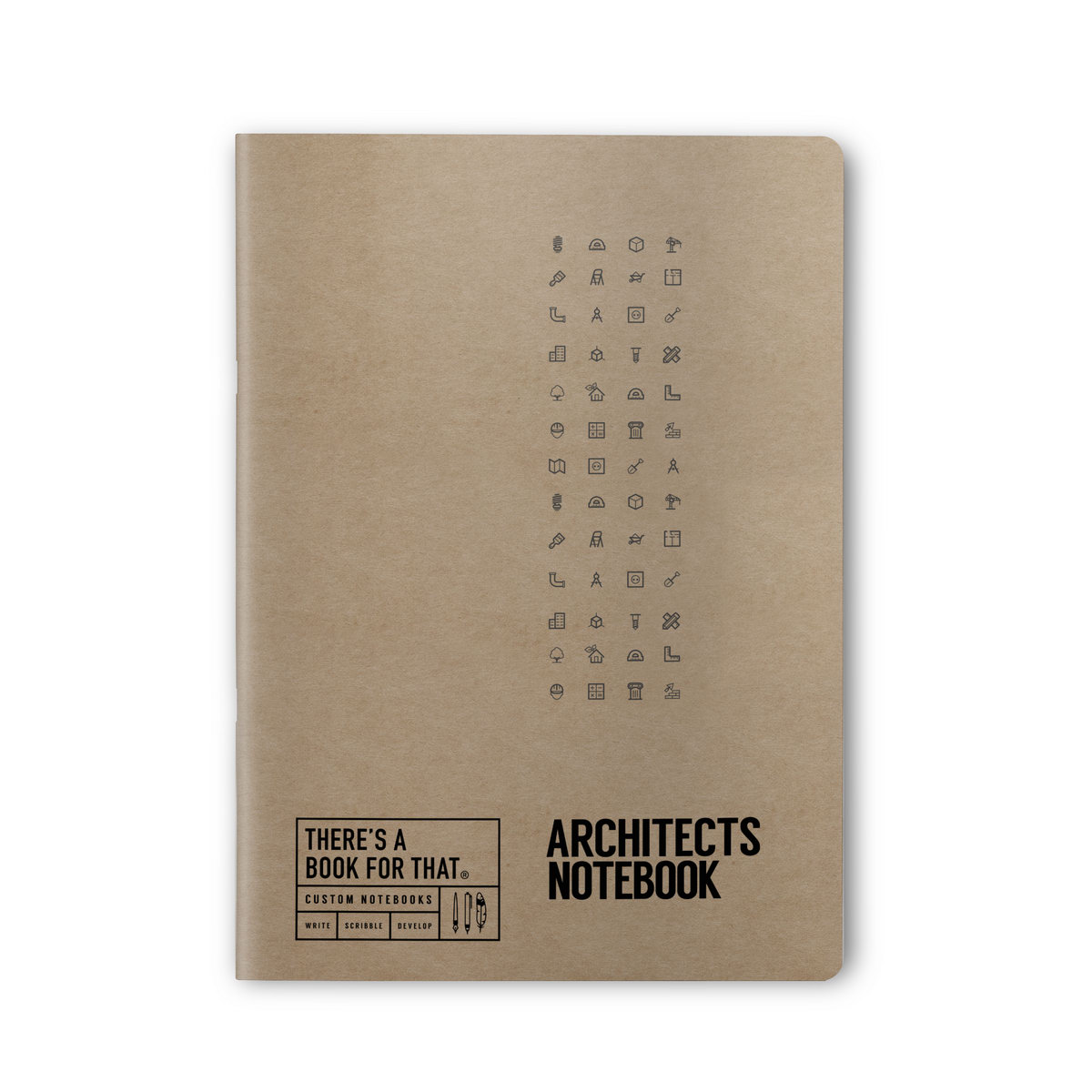 B-109_Architects_Stationery_Notebook_Top