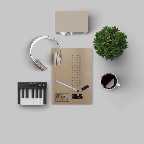 B-110_Notation Notebook_Lifestyle
