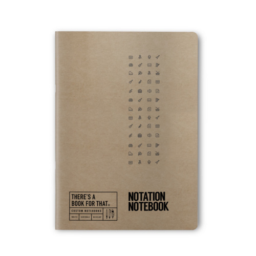 B-110_Notation Notebook_Stationery_Top