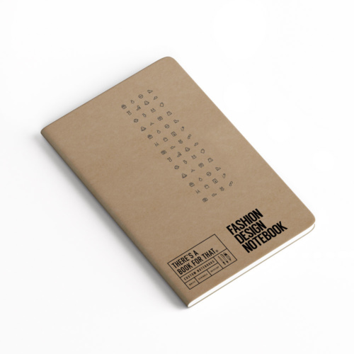 B-112_Fashion_Design-Notebook_Stationery_Cover