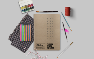B-112_Fashion_Design-Notebook_Stationery_How-to-use