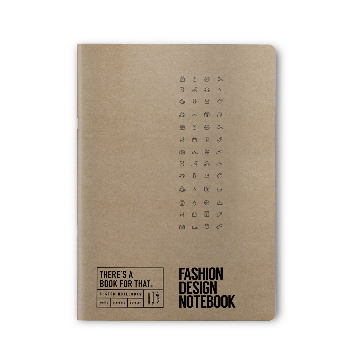 B-112_Fashion_Design-Notebook_Stationery_TopCover
