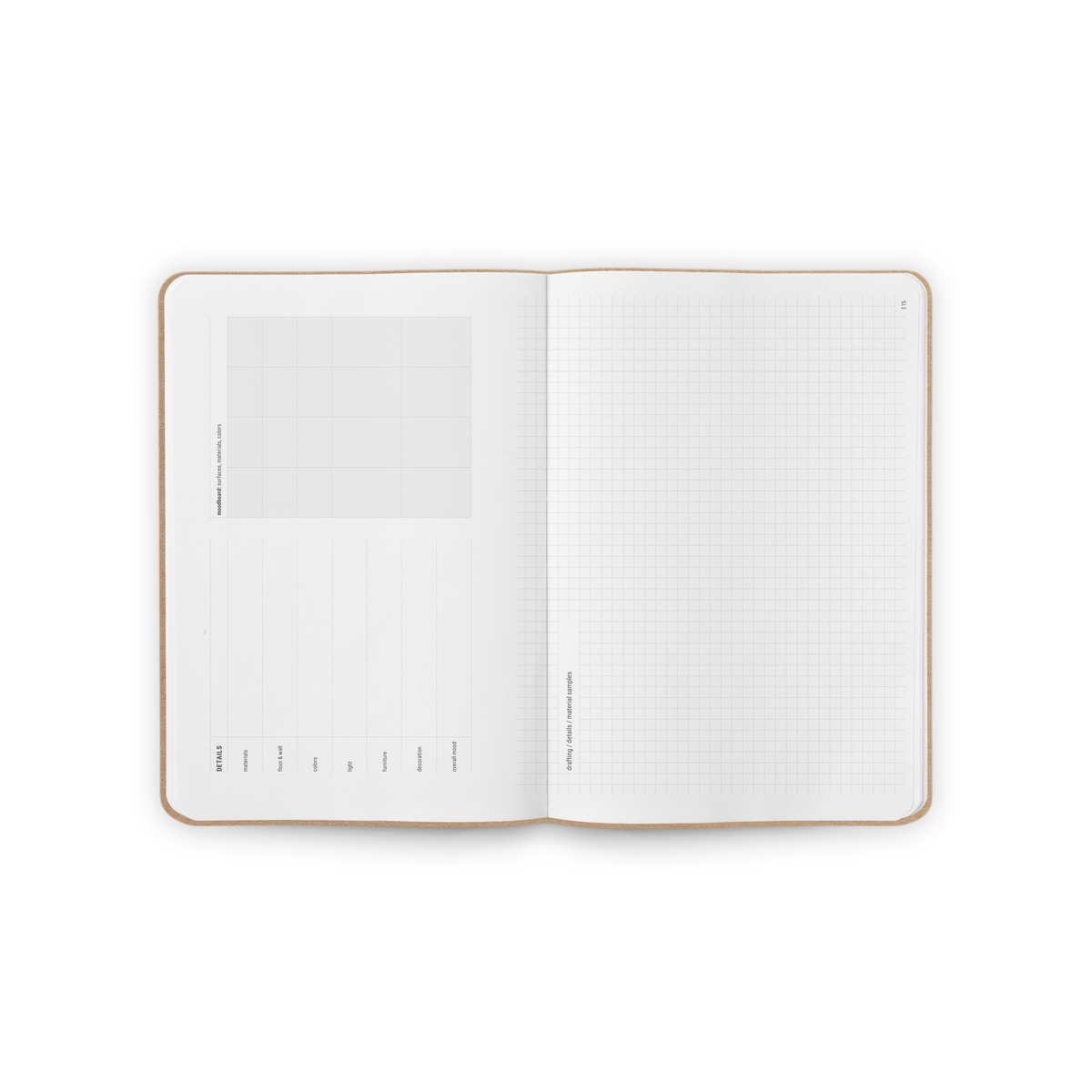 B-113_Interior_Design-Notebook_personalized_notebooks_Spread2
