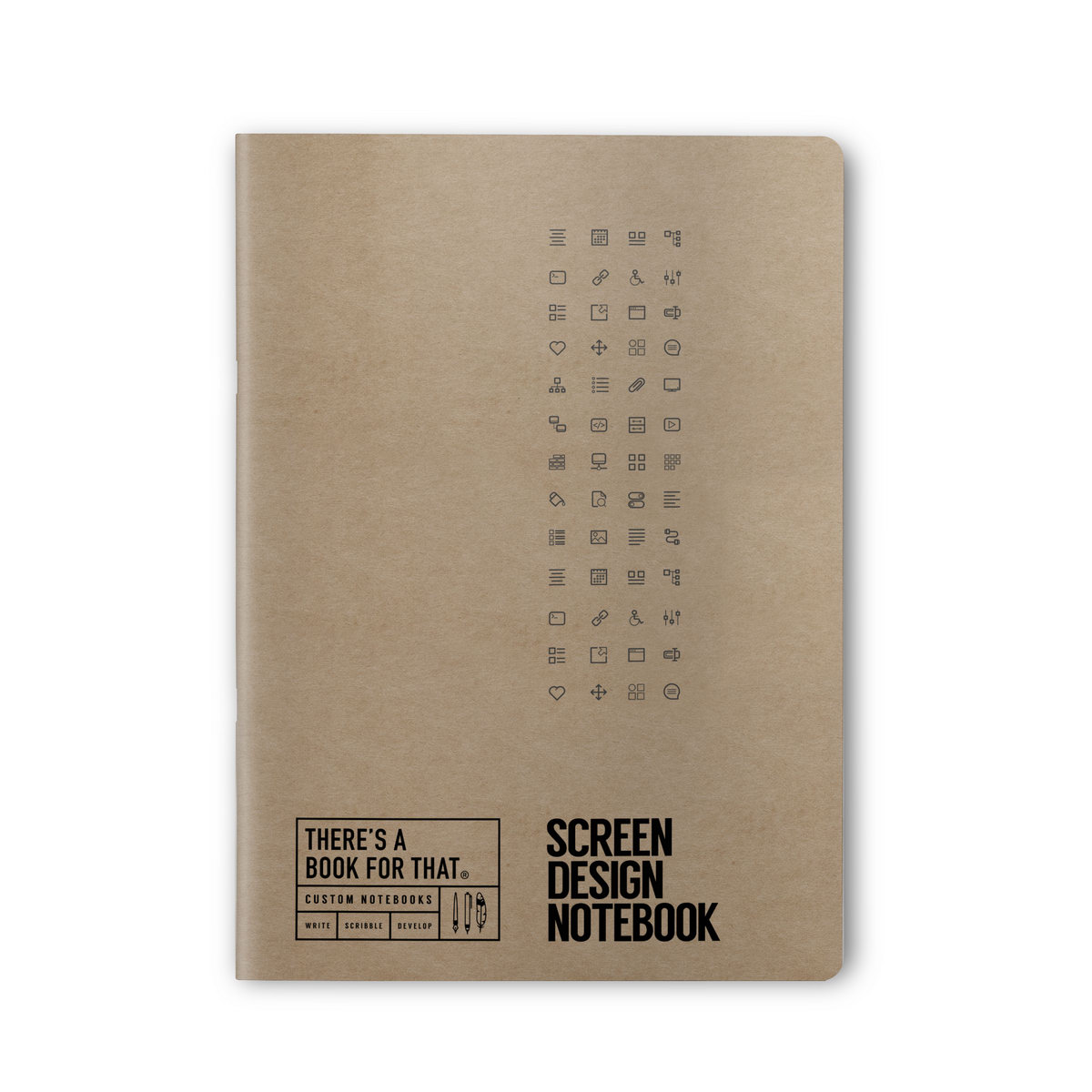 B-114_Screen_Design_Stationery_Notebook_Top