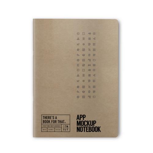 B-115_App-Mockup-Notebook_Stationery_Top