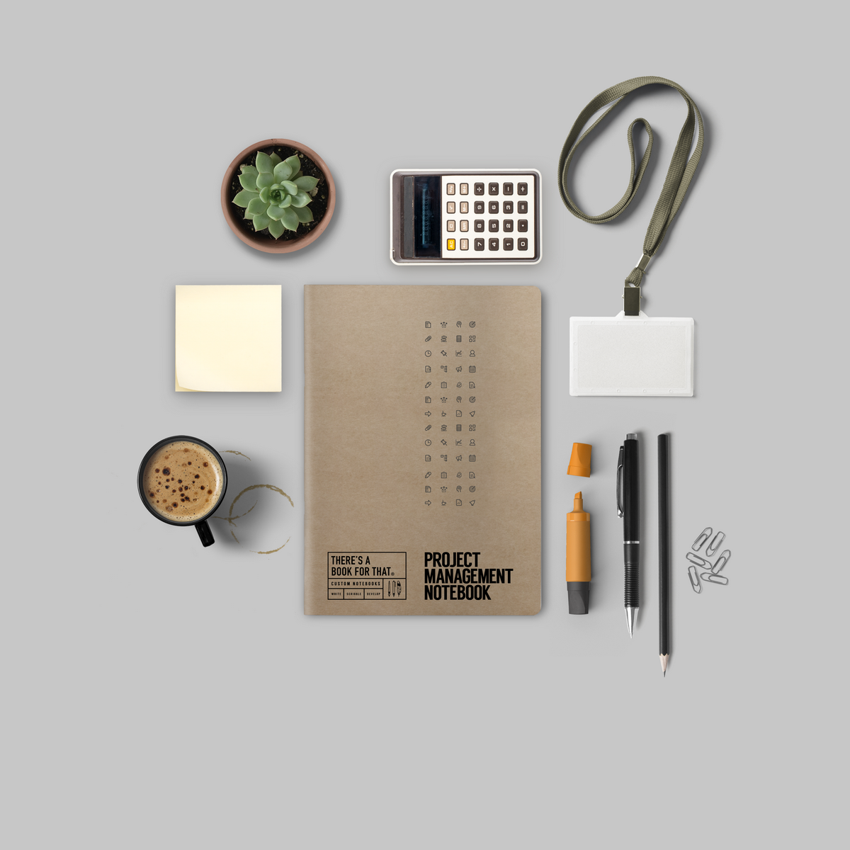 B-118_Projectmanagement Notebook_Stationery_Lifestyle