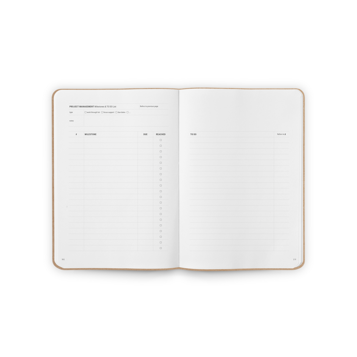 B-118_Projectmanagement_Stationery_Notebook_Spread2