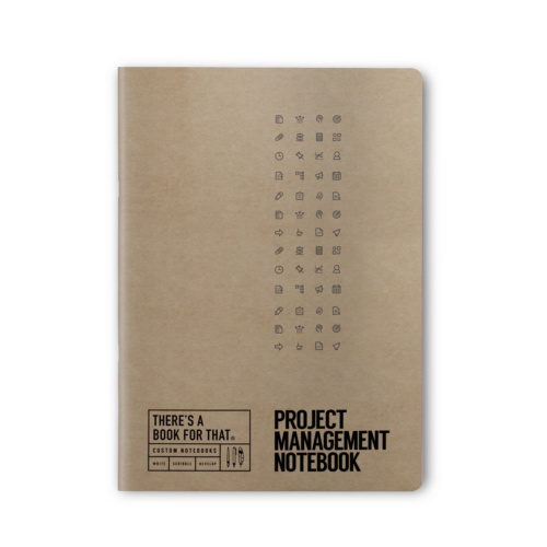 B-118_Projectmanagement_Stationery_Notebook_Top